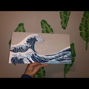 ORIGINAL WAVE PAINTING, inspired by the great wave
